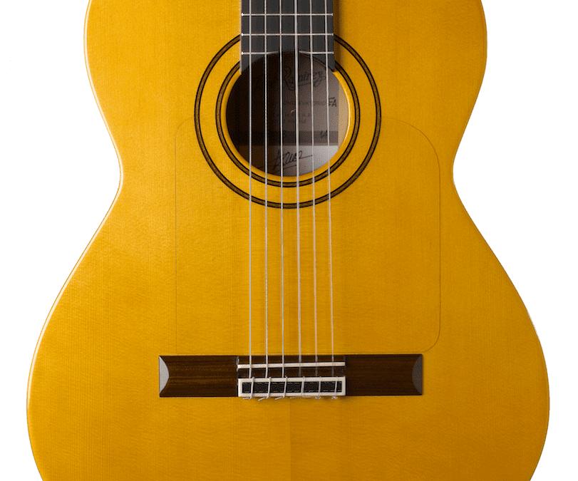 Guitarra Sencilla de Concierto Flamenca