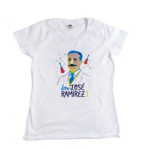 camiseta josé ramirez mujer